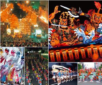 東北6大祭りの集結する東北六魂祭(東北観光博実行委員会提供)