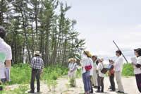 亘理町、防潮林再生へ本格始動 住民ワークショップで復興案を策定