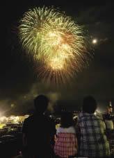 沿岸部14ヵ所で花火3万発「ライトアップニッポン2012」8月11日開催