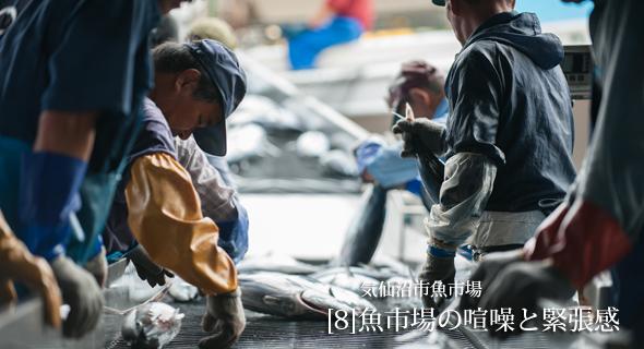 東北のいまvol.8「魚市場の喧噪と緊張感」気仙沼市魚市場