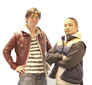 沖合底引き網漁船「清昭丸」船主 菊地基文さん・飯塚商店 飯塚哲生さん