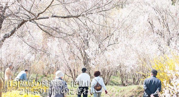東北のいまvol.15 福島の桃源郷・花見山。2年ぶり開園のにぎわい