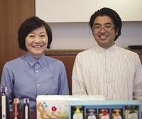 ソウルオブ東北理事長の岡部泉さん(左)と業務統括の高梨和良さん