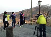 撮影は女川を象徴する各所で行われた