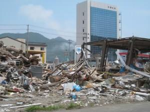 2011年6月の岩手県釜石市。筆者がはじめて震災無料法律相談で訪れた被災地。
