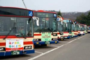 震災時は所有するバス約500台が毎日フル稼働だった