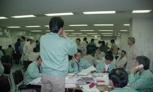 災害対策に必要なのは平常時の準備(写真は阪神・淡路大震災後の神戸市災害対策本部)