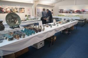 参加窯元は10窯元。ほとんどが福島県内に工房を構えているが、遠くは愛知県で事業再開した窯元も