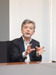 法務・コンプライアンス統括本部長の井上修さん。この研修を通して再確認したのは、「多様性があるほうが組織は強くなる」ということ。「そのためHPの社員には、社外でもさまざまな経験を積んで、幅広い考え方を身につけてほしい」