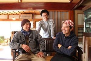 左から島田さん、亀山さん、魚谷さん