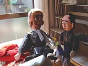 伝統芸能の人形劇「あんど娘」も復活した