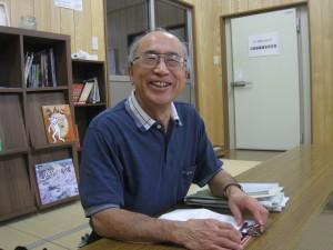 「明るく元気になる組合員や家族が増えてきた」と 笑顔を見せる佐藤理事長