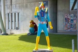 石巻で人気のローカルヒーロー「シージェッター海斗」