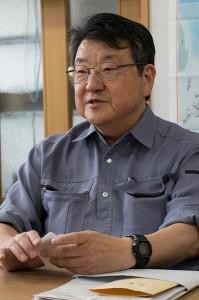 石村工業で新商品の開発や販売の陣頭指揮を執る石村眞一社長。