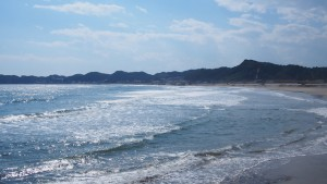 美しい海辺の景色と、温暖な気候で、「東北の湘南」と呼ばれる豊間地区。