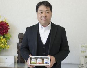 株式会社八葉水産 代表取締役であり、本プロジェクト代表でもある清水敏也さん