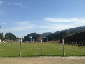 Jリーグ、日本サッカー協会などからの支援により2011年に完成した天然芝の上長部グラウンド ©川崎フロンターレ