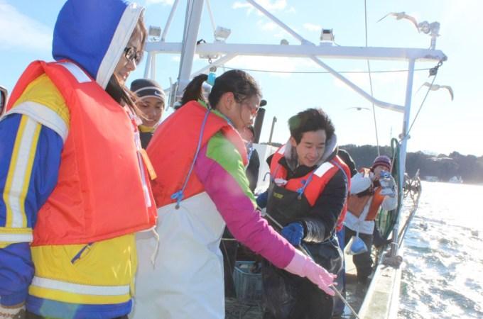 3月〜4月・極上!三陸ワカメ収穫体験2016