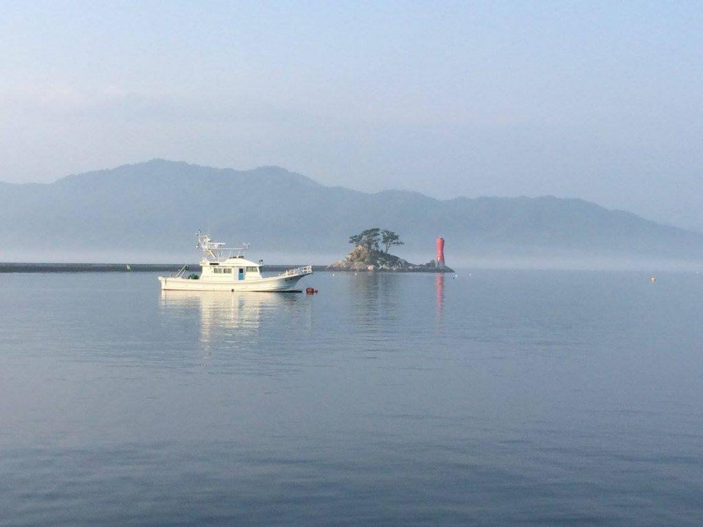 大槌町の湾内にはひょうたんの形をした蓬莱島があり、『ひょっこりひょうたん島』のモデルになったと言われています。