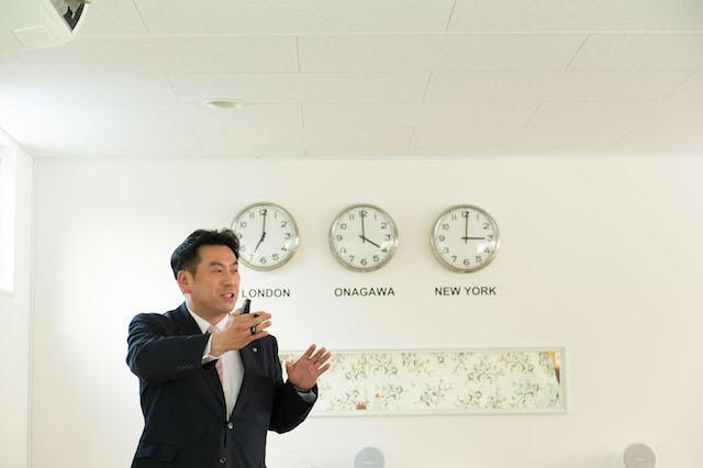 女川町長 須田 善明氏(写真:和田 剛)