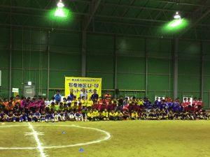 震災直後から各地でサッカー教室を開いたり、コーチを派遣したり、イベントを開催したりといった活動を行いました。