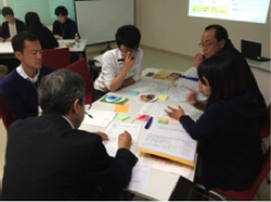 プロジェクト・マネジメント手法を取り入れながら地域課題解決に取り組むメンバーたち