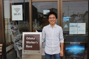 生まれ育った小高を「ゼロから作り上げる唯一のフィールド」と語る小高ワーカーズベースの和田さん