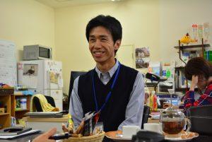「うつくしまふくしま未来応援プロジェクト」に取り組む中野さん。「子どもたちと過ごす時間が楽しいです」と笑顔で語る。