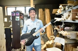 女川産ギターを世界へ
